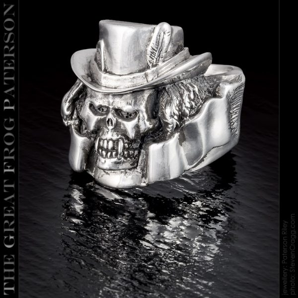 Skull Ring - The Death Dealer - The Great Frog Paterson