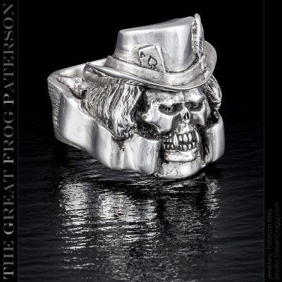 The Death Dealer Skull Ring | The Great Frog Paterson