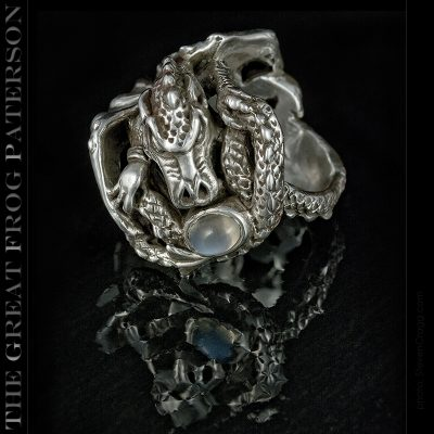 Sterling Silver Dragon Ring | The Great Frog Paterson