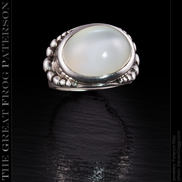 Horizontal Beaded Gemstone Ring | The Great Frog Paterson