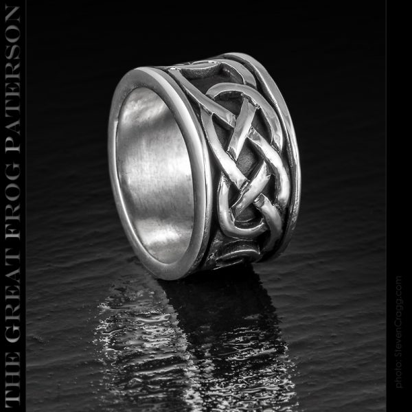 Silver Celtic Band ring