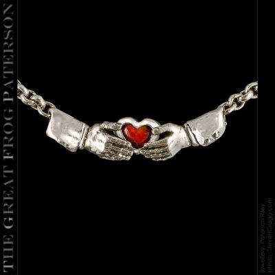 Hands Heart Necklace
