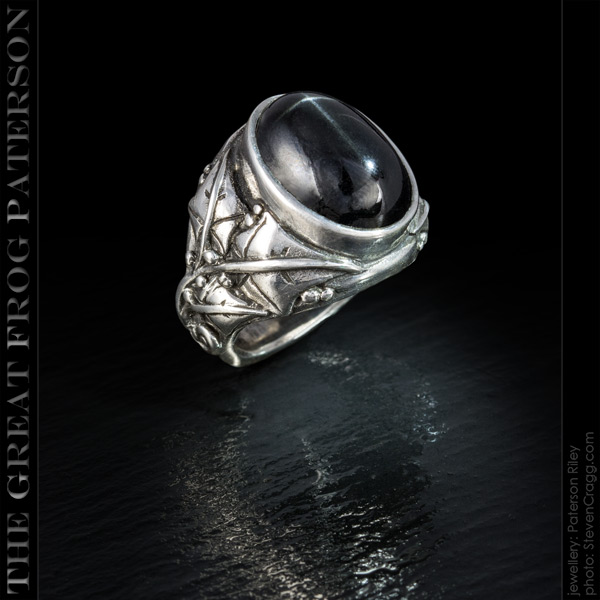 Silver Ivy Gemstone Ring | The Great Frog Paterson