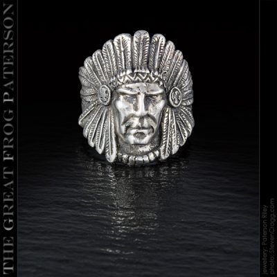 Silver Native American Ring | The Great Frog Paterson
