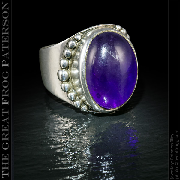 Vertical Beaded Gemstone Ring | The Great Frog Paterson