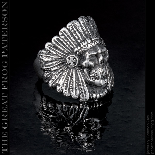 native-american ghost warrior vampire ring