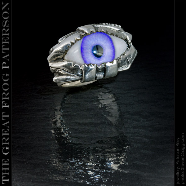 The Great Frog Steam Punk Eye Ring