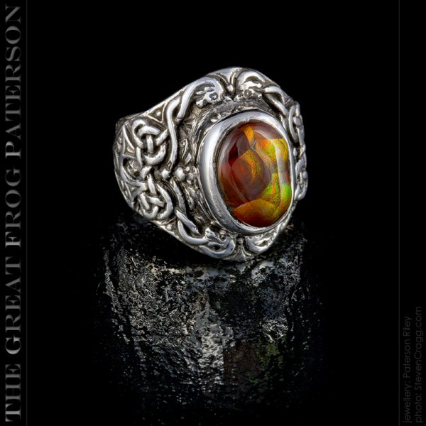 silver Celtic Knot ring : The Great Frog Paterson