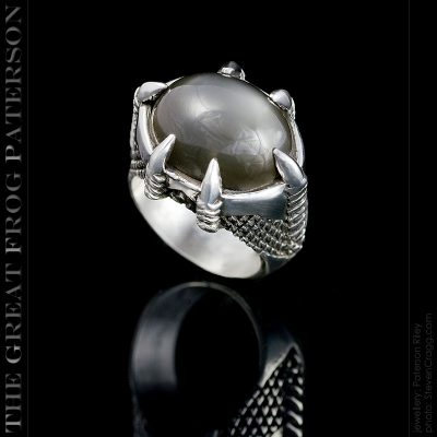 Silver Dragons Claw Ring |The Great Frog Paterson