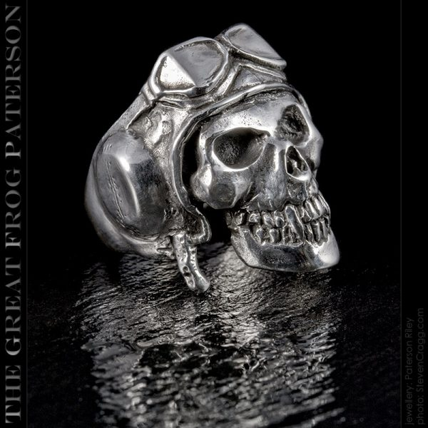 the great frog : death from above skull ring