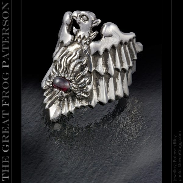 the great frog : illuminati phoenix ring
