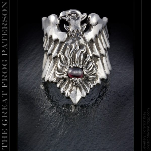 Silver Fantasy Rings / Symbolic Designs