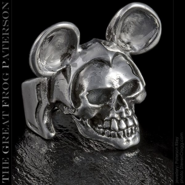 Mike Rodent skull ring | The Great Frog Paterson