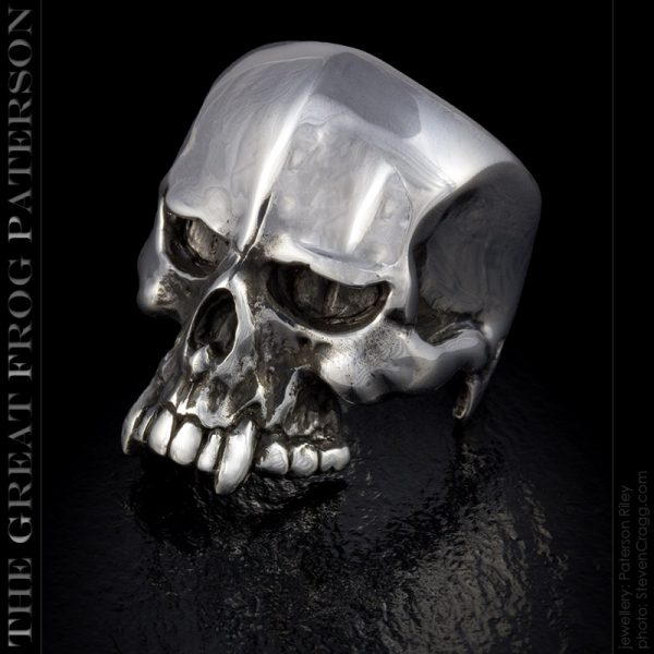 silver skull ring : Nemesis : The Great Frog Paterson