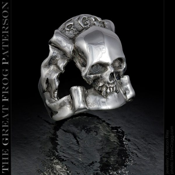 The Great Frog Skull Ring - TGF Rocker | The Great Frog Paterson